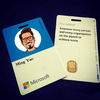 微软(Microsoft)工牌